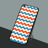 Waves Geometric Pattern - iPhone 7 6 5 SE Cases & Covers