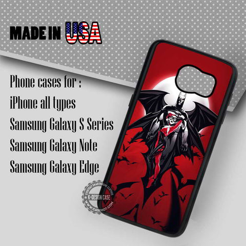 Batman Harley Quinn - Samsung Galaxy S7 S6 S5 Note 5 Cases & Covers