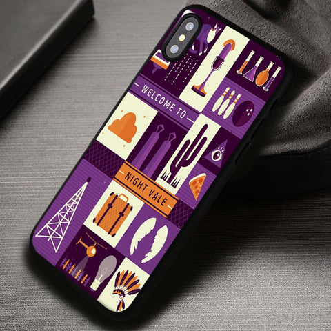 Welcome To Night Vale - iPhone X Case