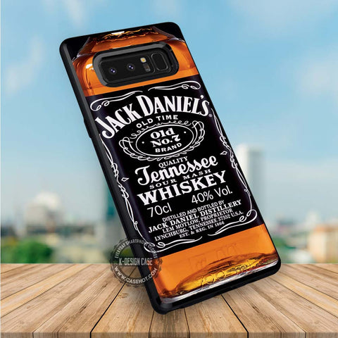 Whiskey Jack Daniels - Samsung Galaxy S8 S7 S6 Note 8 Cases & Covers  #SamsungS8