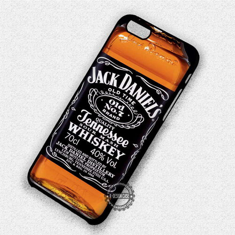 Whiskey Jack Daniels - iPhone X 8+ 7 6s SE Cases & Covers