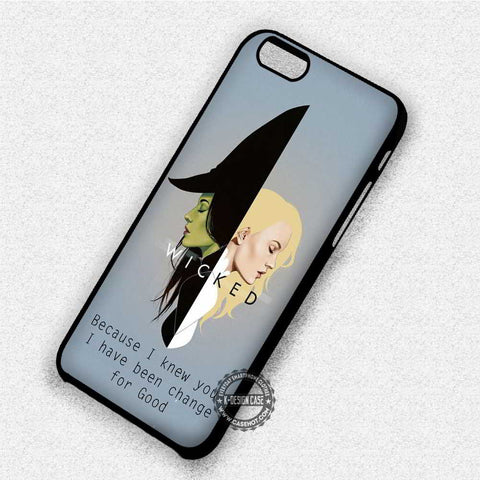 Wicked Quote Musical - iPhone 7 6 Plus 5c 5s SE Cases & Covers