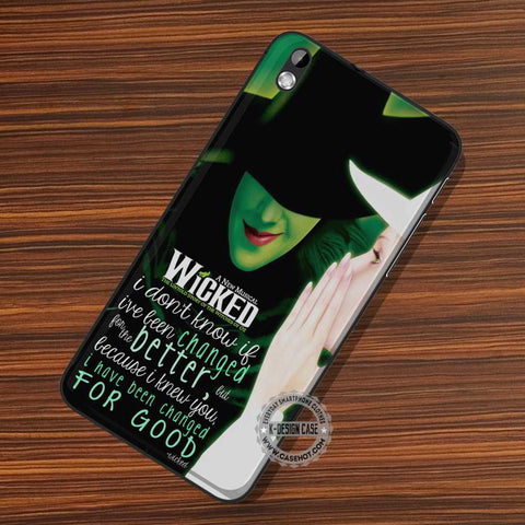 Wicked The Musical Quote - LG Nexus Sony HTC Phone Cases and Covers