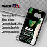 Wicked The Musical Quot - Samsung Galaxy S7 S6 S5 Note 5 Cases & Covers
