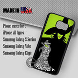 Wicked The Musical Quote - Samsung Galaxy S7 S6 S5 Note 5 Cases & Covers
