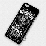 Winchester Whiskey Supernatural - iPhone X 8+ 7 6s SE Cases & Covers