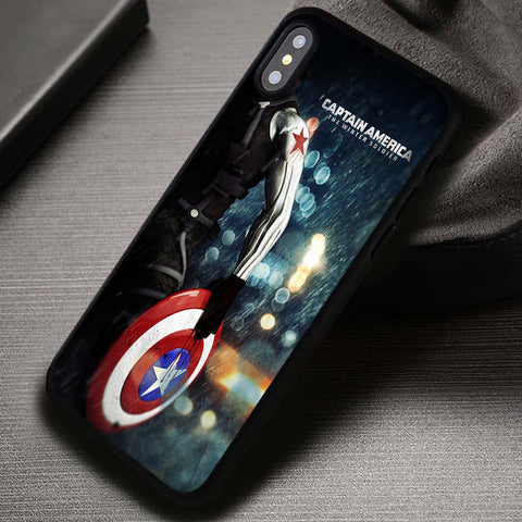 Winter Soldier Captain America - iPhone X Case