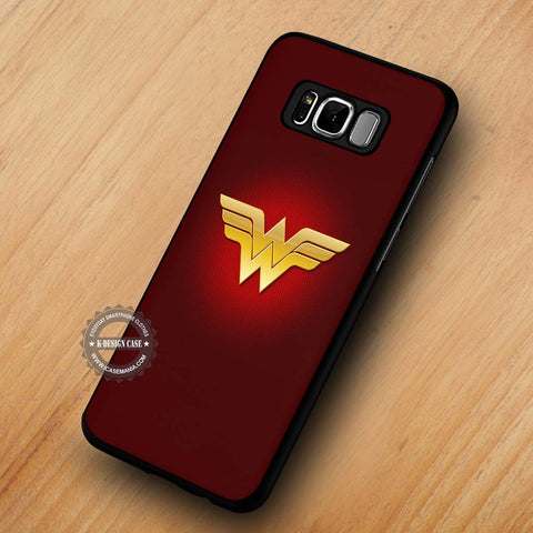 Wonder Woman Logo Justice League - Samsung Galaxy S8 Case