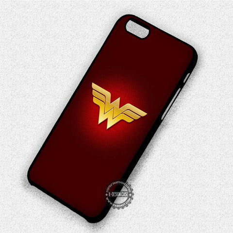 Wonder Woman Logo - iPhone X 8+ 7 6s SE Cases & Covers