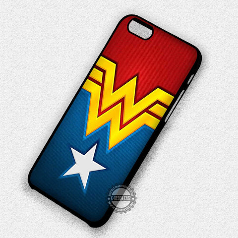 Wonder Woman Logo Costume - iPhone 7 6 Plus 4 Cases & Covers