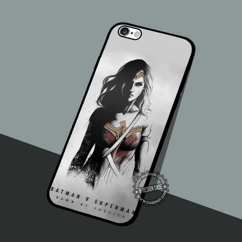Wonder Woman Retro - iPhone 7 6 SE Cases & Covers
