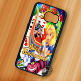 Alice in Wonderland Poster - Samsung Galaxy S7 S6 S5 Note 7 Cases & Covers