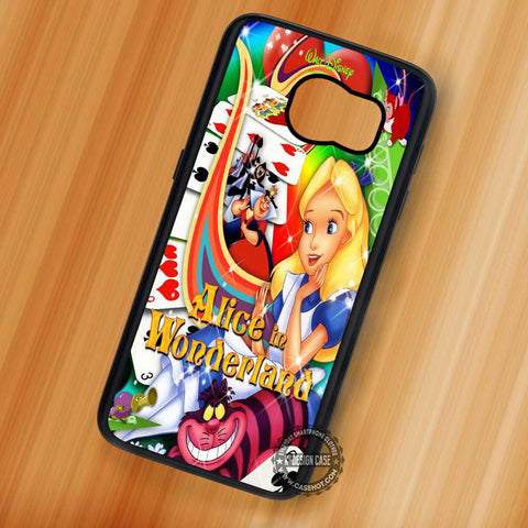 Alice in Wonderland Poster - Samsung Galaxy S8 S7 S6 Note 8 Cases & Covers