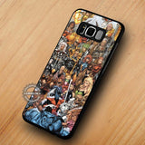 X-Men Characters Collage - Samsung Galaxy S8 Case
