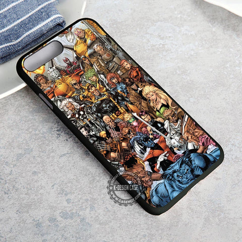 x men all characters iphone case