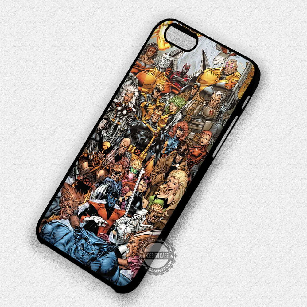 timeless design 83a0b 91ae1 X-Men Characters Marvel - iPhone 7 Plus 6 5S SE 4 Cases & Covers