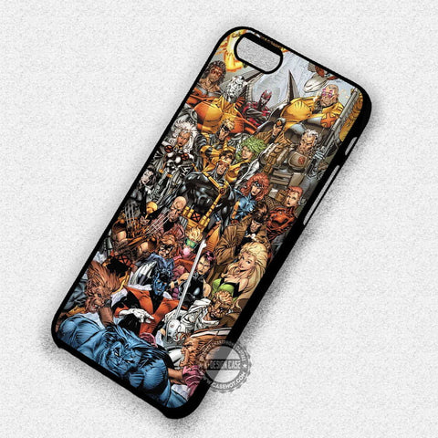 X-Men Characters Marvel - iPhone 7 Plus 6 5S SE 4 Cases & Covers