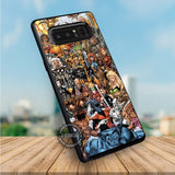 X-Men Characters Collage - Samsung Galaxy Note 8 Case