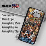 X-Men Characters Collage - Samsung Galaxy S7 S6 S5 Note 5 Cases & Covers