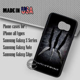 X - Men Wolverine Claws - Samsung Galaxy S7 S6 S5 Note 5 Cases & Covers