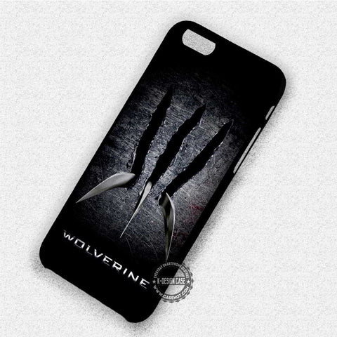 X - Men Wolverine Claws - iPhone X 8+ 7 6s SE Cases & Covers