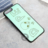 Yes I'm Weird Alien Dope - iPhone 8+ Case