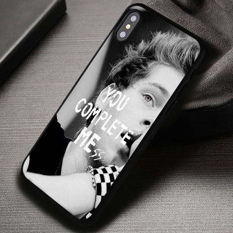 You Complete Mess Luke Hemmings 5SOS - iPhone X Case