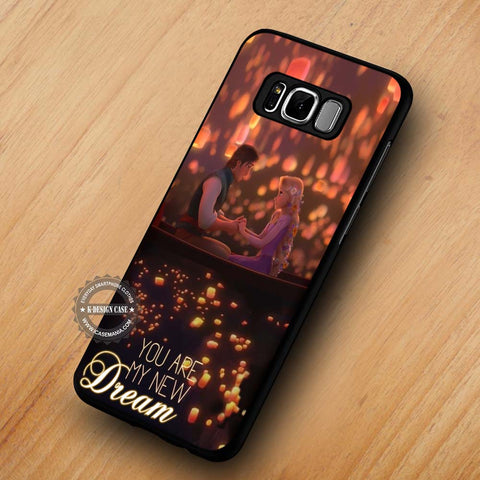 You Are My New Dream Tangled - Samsung Galaxy S8 Case