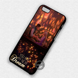 New Dream Tangled Quote - iPhone 7 6 Plus 5c 5s SE Cases & Covers