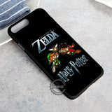 Zelda vs Harry Potter Snitch - iPhone 8+ Case
