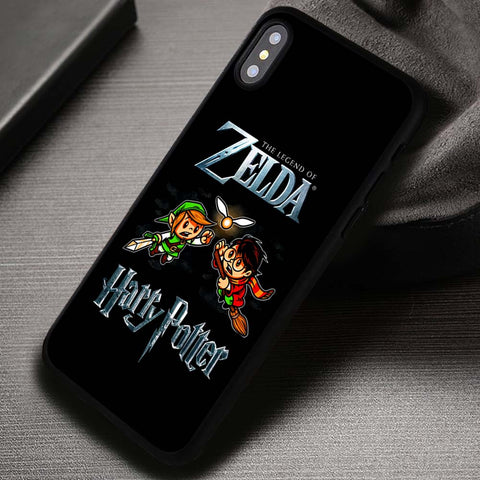 Zelda vs Harry Potter Snitch - iPhone X Case