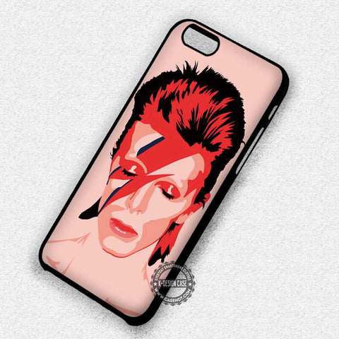Ziggy Stardust David Bowie Vintage Vector Art - iPhone 7 6 5 SE Cases & Covers