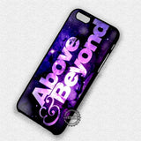 Above and Beyond Logo - iPhone X 8+ 7 6s SE Cases & Covers