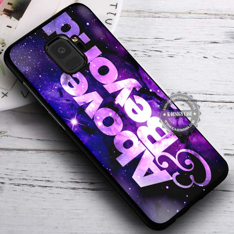 Above and Beyond Logo - Samsung Galaxy S8 S7 S6 Note 8 Cases & Covers #SamsungS9