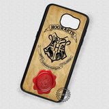 Acceptance Letter Harry Potter - Samsung Galaxy S7 S6 S4 Note 5 Cases & Covers