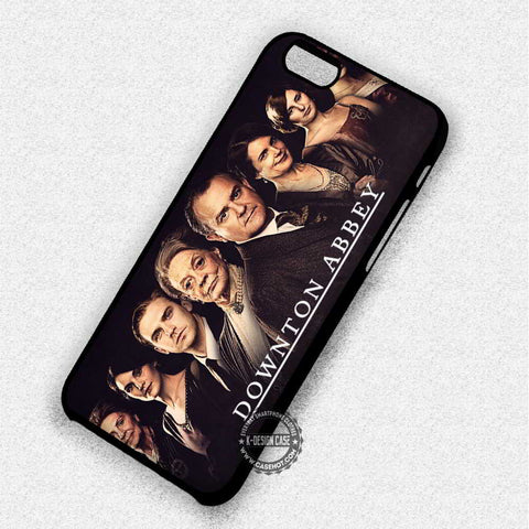 All Cast Poster Downtown Abbey Movie - iPhone 7 6 5 SE Cases & Covers