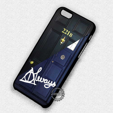 All The Famous Tardis Sherlock Holmes - iPhone 7 6 5 SE Cases & Covers