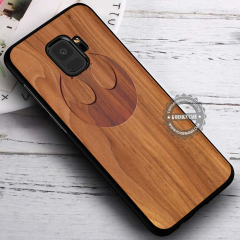 Alliance Sign Wood Star Wars - Samsung Galaxy S8 S7 S6 Note 8 Cases & Covers #SamsungS9