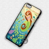 Amazing Vintage Ariel Little Mermaid - iPhone 7 6 5 SE Cases & Covers