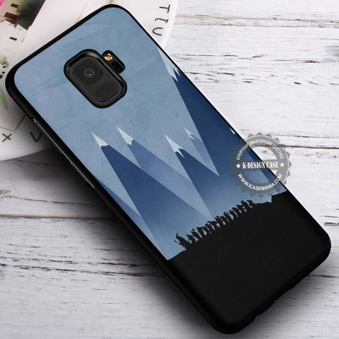 Among The Mountain The Hobbit - Samsung Galaxy S8 S7 S6 Note 8 Cases & Covers #SamsungS9