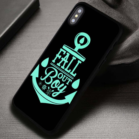Anchor For Logo Fall Out Boy - iPhone X Case