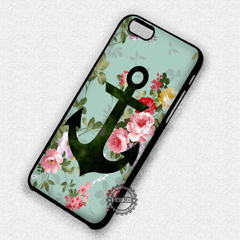 Anchor on Vintage - iPhone 7 6S 5C SE Cases & Covers