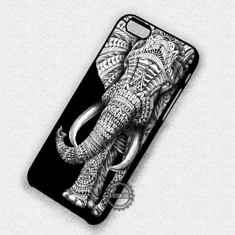 Animal Image on Black - iPhone 7 6S 5C SE Cases & Covers