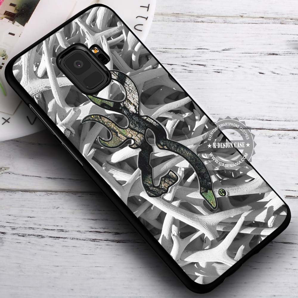 buy popular f2bdc c6cc7 Antlers Image Camouflage - Samsung Galaxy S8 S7 S6 Note 8 Cases & Covers  #SamsungS9