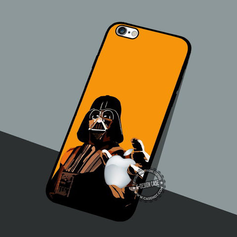 Apple Funny Characters - iPhone 7 6 5 SE Cases & Covers