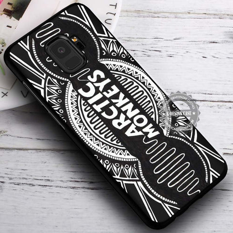 Art Drawing Logo Arctic Monkeys - Samsung Galaxy S8 S7 S6 Note 8 Cases & Covers #SamsungS9