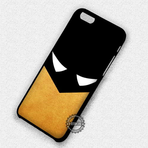 Art Face Gold Texture and Black Batman - iPhone 7 6s 5c 4s SE Cases & Covers