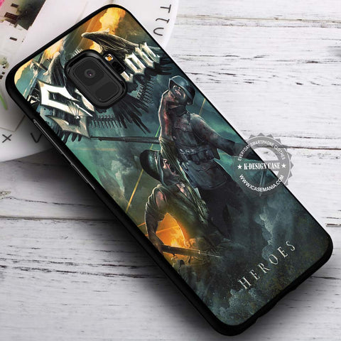 Art of War Heroes Sabaton - Samsung Galaxy S8 S7 S6 Note 8 Cases & Covers #SamsungS9