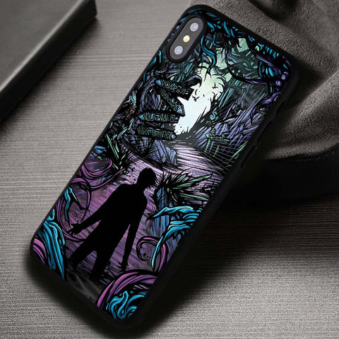 Artwork Homesick A Day To Remember - iPhone X Case