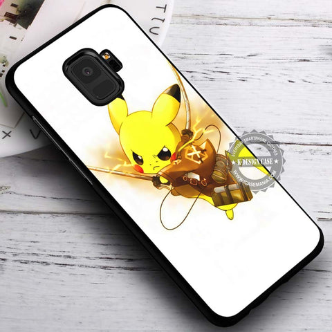 Attack of Titans Pokemon - Samsung Galaxy S8 S7 S6 Note 8 Cases & Covers #SamsungS9